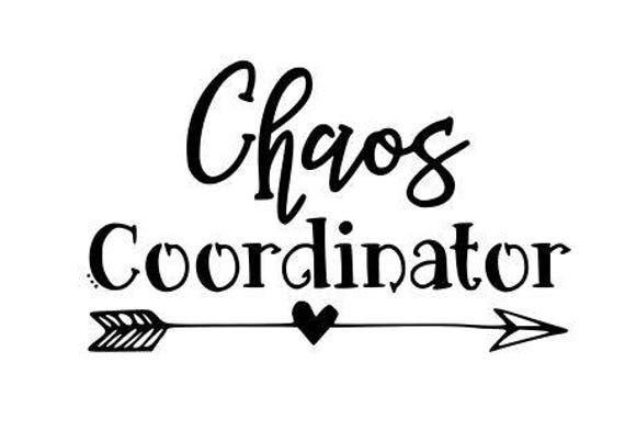 Chaos Coordinator Svg Png Dxf