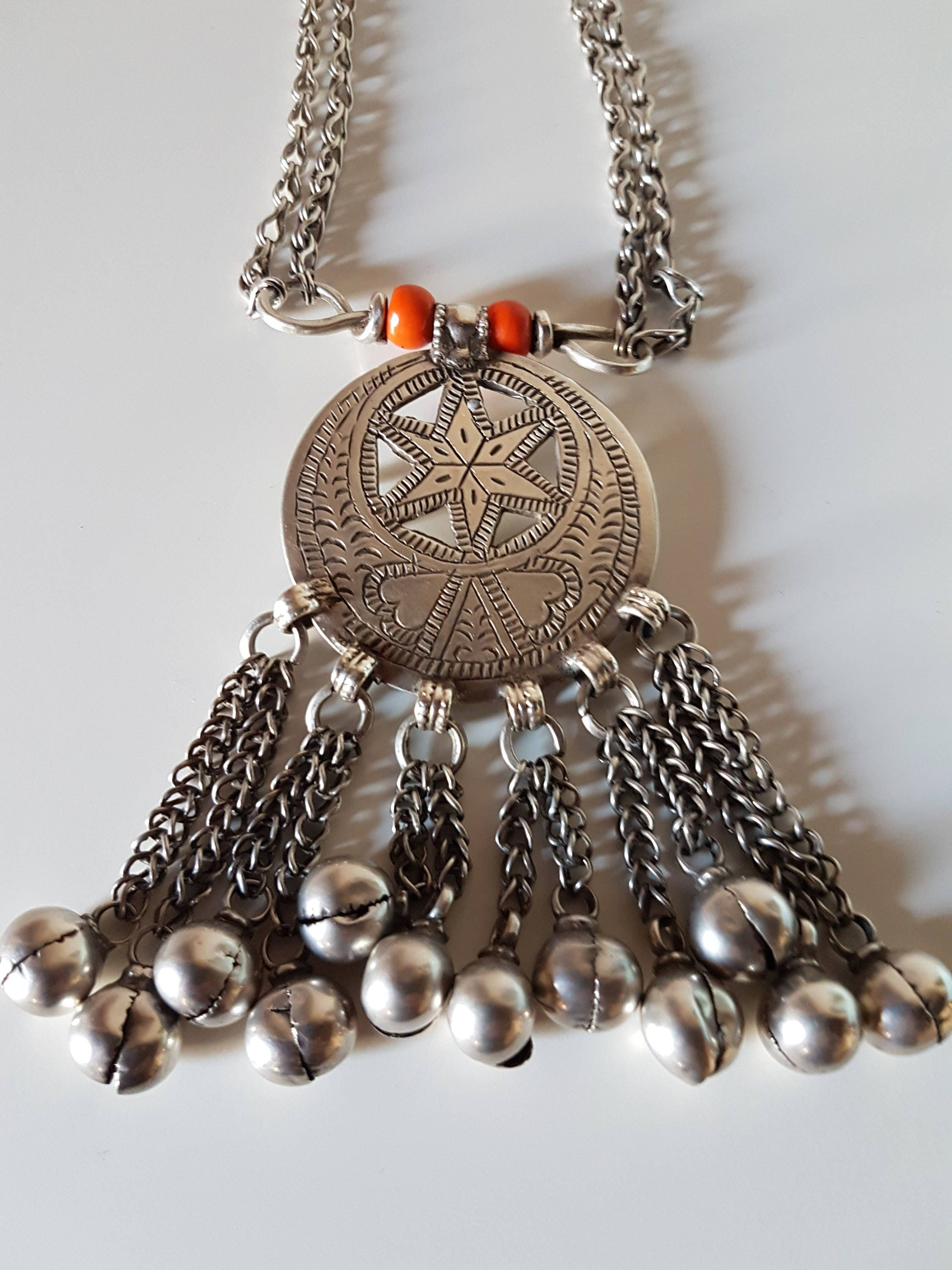 usd long from schafer oaxaca norma necklace berber copper tag coral michoacan cultural navigator