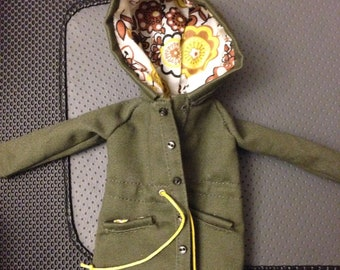 Real Coat for Doll