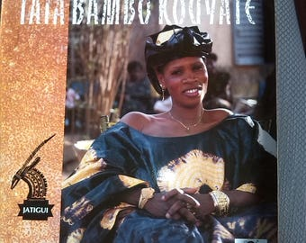 Tata Bambo Kouyate  Jatigui Vinyl LP ORB042 1989 Globe Style Records