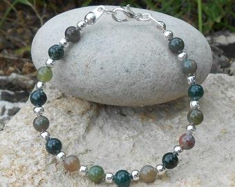 Child bracelet Indian agate beads