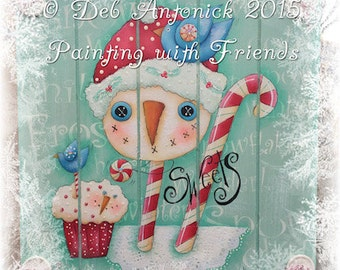 Sweet Treats by Deb Antonick, email pattern packet