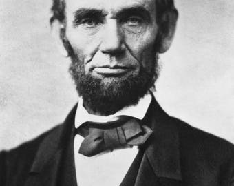 Poster, Many Sizes Available; Abraham Lincoln