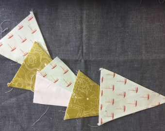Sea Style Bunting Flags - 5 Flags