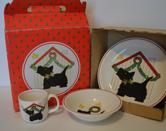 Studio Nova Three Piece Children Set Merry Terrier