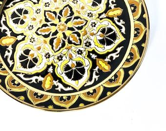 Oriental wall plate, vintage, Kerameikos