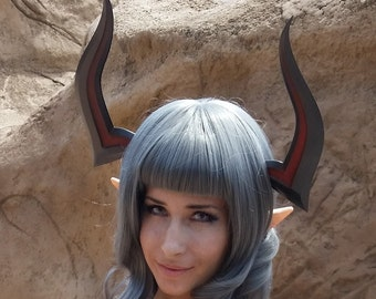 3D Printed Tera Castanic Cosplay Horns (Pair)