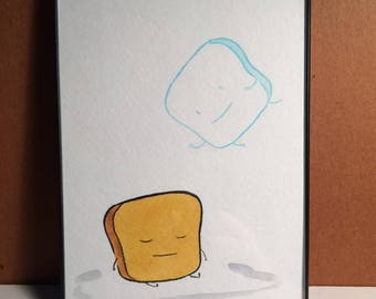 Mr Toast ASTRAL PROJECTION Drawing