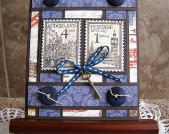 Handmade Vintage Card - Travel - Masculine - Birthday - Thinking of You - Authentique