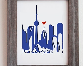 Toronto, Ontario, Canada ROM -  Personalized Gift or Wedding Gift