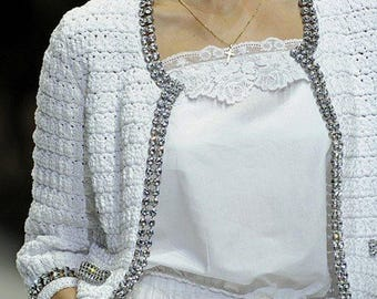 Crochet Cardigan Pattern #559