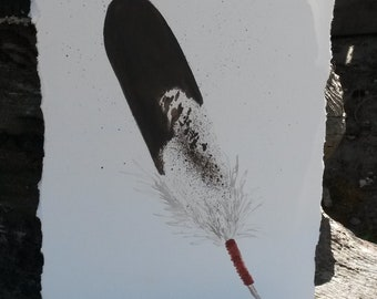 Eagle Feather Original Painting