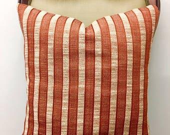 Brick Color Boho Pillow Cover Pillows Chenille Pillow Throw Pillow Decorative Pillow Boho Cushion Cover Brick Color Chenille Pillow Covers