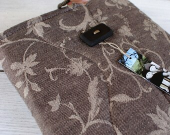 Apple iPad 1 or 2 Sleeve Case Cover/ padded/ linen