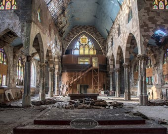 God Forsaken -Urban Exploration- abandoned church, cathedral, god, religion, alone, urbex, gothic