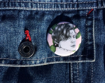 Harry Styles Pin Badge