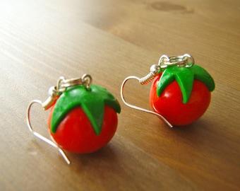 Tomatoes Earrings