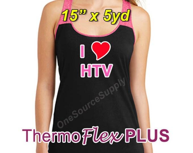 "15""x 5 yard / ThermoFlex Plus - Heat Transfer Vinyl - HTV"