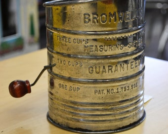 Bromwell's Flour Sifter