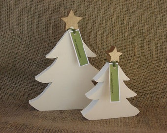 Christmas Trees handmade from Salvaged Wood