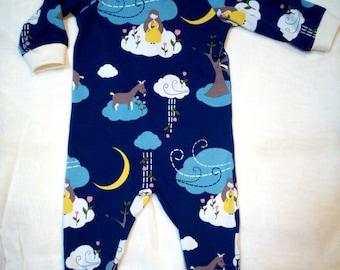 Pajamas baby organic cotton T-6 months