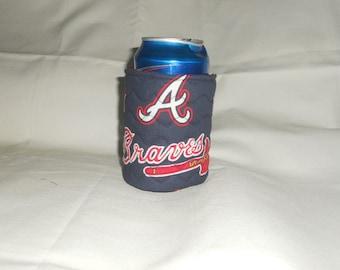 Atlanta Braves Soda or Beer Can Cooler