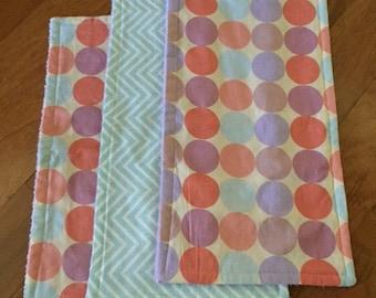 Dots Burp Cloth Set