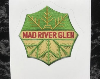Mad River Glen sticker from vintage patch 2.75x 2.75