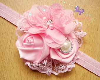 UPGRADED Rhinestone Pearl Hair Accessory ~ Will match your Tutu Outfit