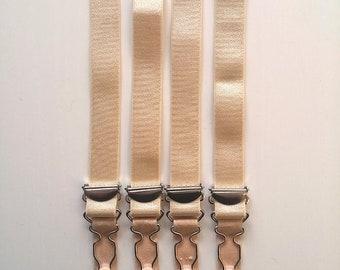 4 Sew on Garter Suspender Straps