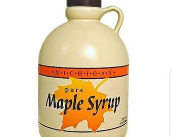 1/2 Gallon Pure Michigan Maple Syrup-Maple Syrup