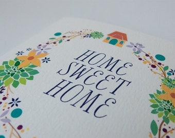 Home Sweet Home House Warming Card