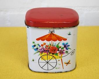Vintage Sunblest Tea tin