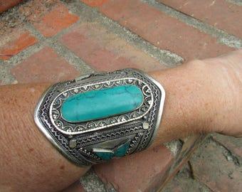 Ornate Tribal Cuff