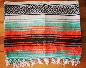 mexican falsa yoga pilates blanket