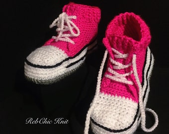 """""""converse"""" style slippers"""
