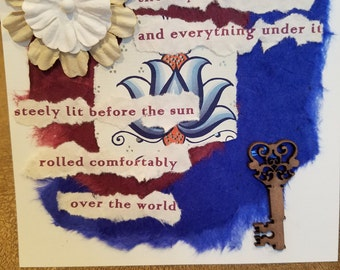 Poetry Art Card #5