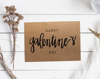 10 pack Happy Galentine's Day Cards