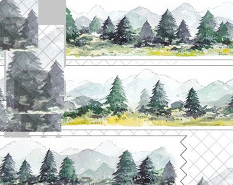 1 Roll of Limited Edition Washi Tape - The Great Forrest