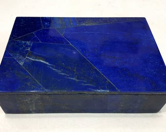A Grade Beautiful Lapis Lazuli Box Hand Made