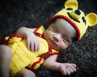 Crochet Winnie the Pooh