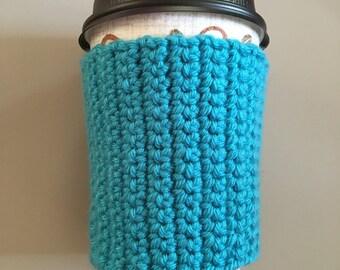 Hand crochet coffee cozy