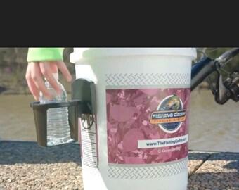 Detachable Cupholder, Beer holder, Beverage holder, Xtra Large Cupholder, Fishing  Bucket Cup holder, bucket cupholder