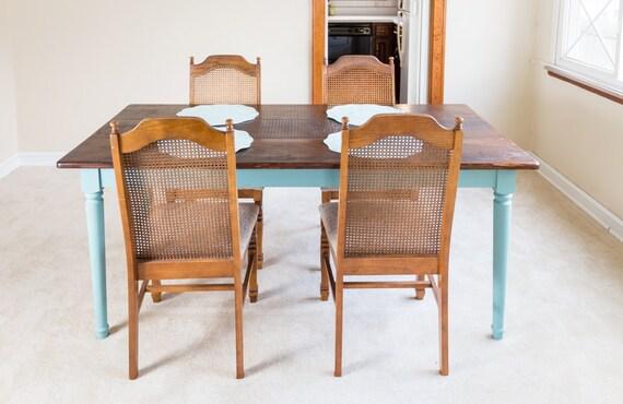Farmhouse Pine Dining Table Provence Custom Harvest Table