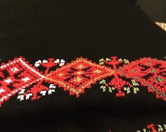 Palestinian scarf, Handmade