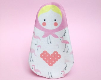 MATRYOSHKA FLAMINGO PURSE