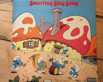 Smurfing Sing Song - Vinyl (Smurfs)