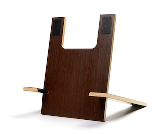 sculptural cherry guitar stand. Black Bedroom Furniture Sets. Home Design Ideas