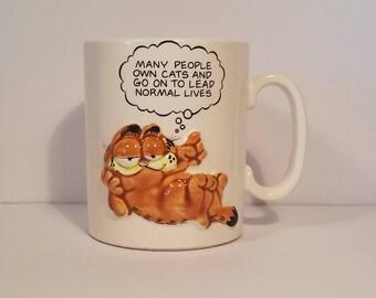 Vintage Garfield Coffee Mug, Enesco Mug