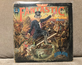 Elton John - Captain Fantastic And The Brown Dirt Cowboy (MCA-2142; 1975; LP_